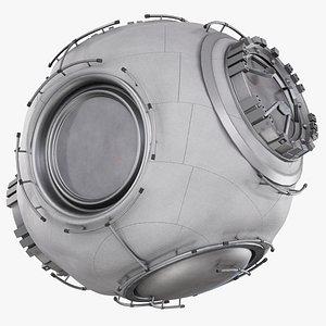 gateway airlock module - 3D