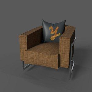 armchair vs 1 3D model