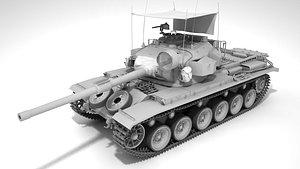 3D Centurion MkV RAAC Tank model