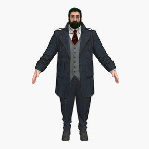 fat boss 3D model