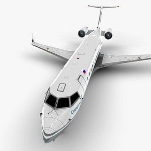bombardier crj 200 l1087 3D
