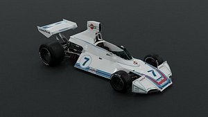 brabham martini bt44 1975 3D model