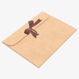 paper bow envelope model