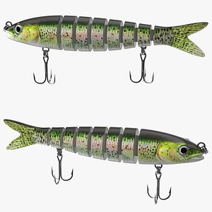 Fishing Lure for Bass Trout 3D model