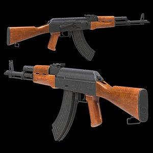 3D model AKM Low Poly