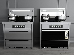 Integrated Stove model