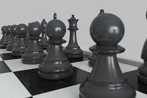 chess board model