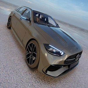 Mercedes-Benz C-Class Estate 2022 3D model