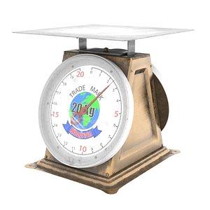 Kilogram Scale 3D