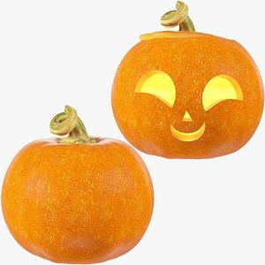 3D Halloween Pumpkins Collection V6