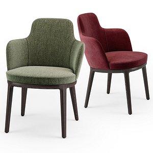 lema lucylle chair 3D model