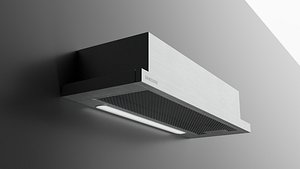 Extractor Hood NK36M1030IS by Samsung 3D