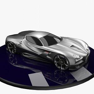 3D Alfa Romeo MV GT model