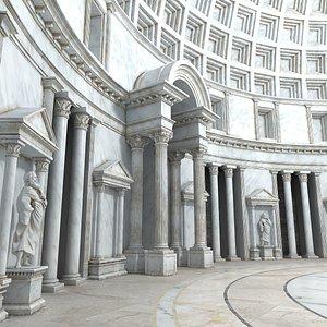 Ancient interior 2 model