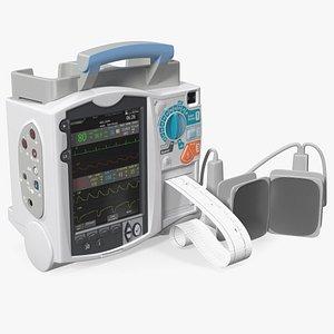 Defibrillator with ECG Monitor model