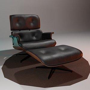 3D eames lounge model