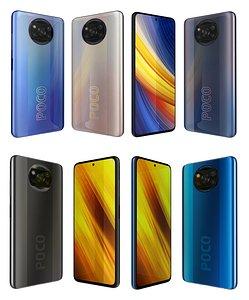 3D Xiaomi Poco X3 And Pro