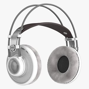 3D akg headphone head