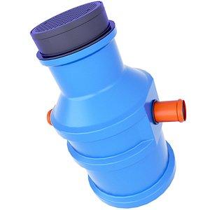 3D Domestic Sewage Pumping Station 20