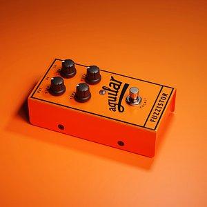 Aguilar Fuzzistor Bass Fuzz Pedal 3D model
