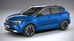 3D Opel Grandland 2022