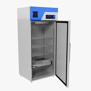Laboratory Refrigerator NG 3D model
