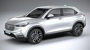 3D Honda HR-V 2022 model