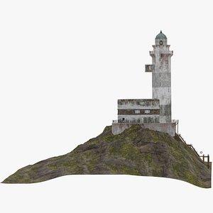 3D model Aniva Lighthouse