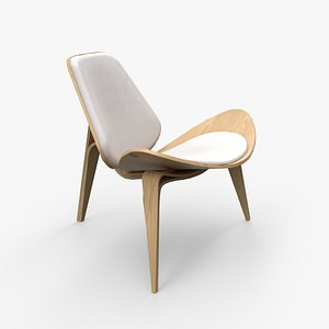 3D Howard Side Chairs pine finish
