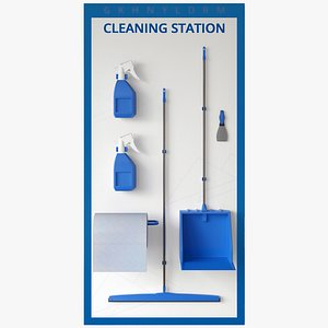 Cleaning Station 3D model