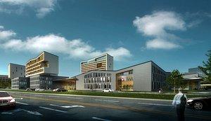3D hospital bui model