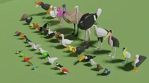 Birds Pack 3D