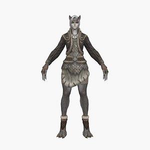 3D model Werewolf V2