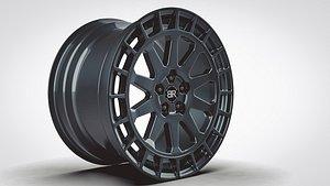 rim vehicle 3D model