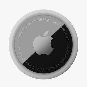 3D AirTag Apple 3d Model