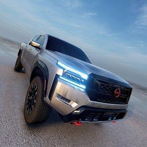 Nissan Frontier 2022 3D model