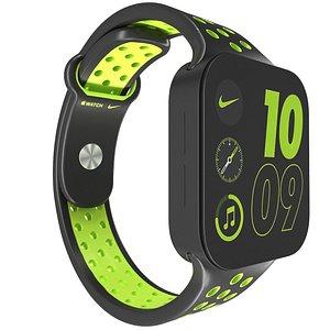 Apple Watch 7 Sport 3D model
