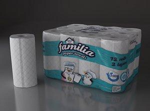 towel paper 12roll model