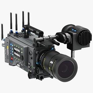 3D ARRI ALEXA LF Pro Cinema Camera model