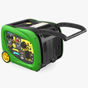 3D Portable Inverter Generator model