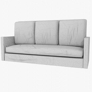 Low poly Sofa(1) 3D model
