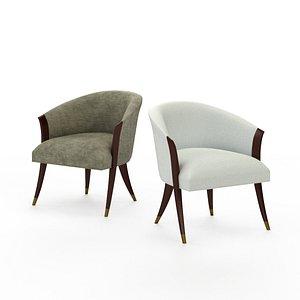 delilah chair 3D model