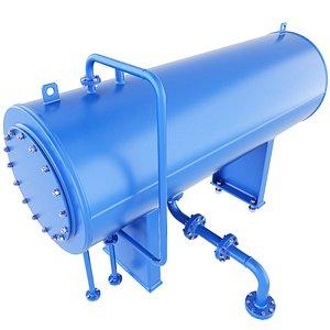 vessel pressure gas 3D model