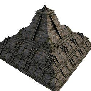 Pyramid Temple 01 02 3D model