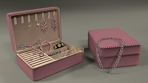Organizer with decorations 3D