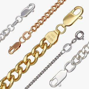 3D chain curb