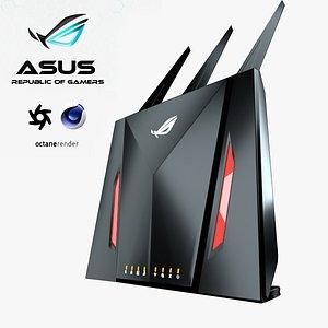 Asus Router 3D model