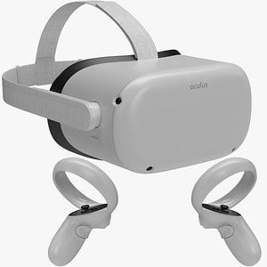 3D quest 2 controller