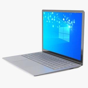 Microsoft Surface Laptop 4 13 Inch Platinum 3D model