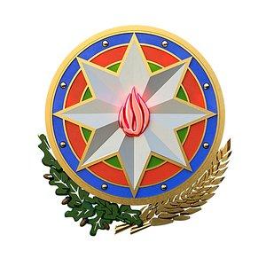 az azerbaijan emblem model